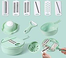 Multifunctional Vegetable Cutter 12-Piece Kitchen