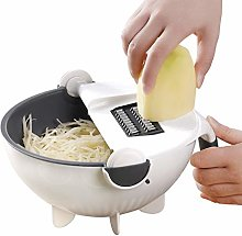 Multifunctional Vegetable Cutter Slicer Grater, 9