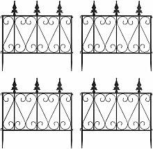 Multigot Decorative Garden Fencing, Rustproof