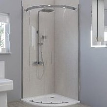 Multipanel Classic Warm Mica 900mm & 900mm Sides -