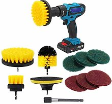 Multipurpose 11Pcs Electric Drill Cleaning Brush