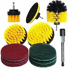 Multipurpose 12Pcs Electric Drill Brush Cleaning