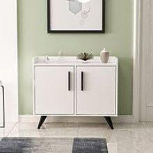 Multipurpose Cabinet Laura - with Doors, Shelves,