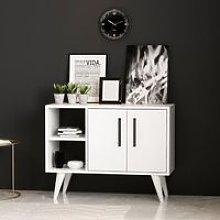 Multipurpose Cabinet Luana - with Doors, Shelves,