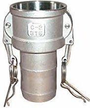 Multitanks 3680-2 Camlock Connector, Gray, Ø A: