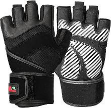 Mumian - Half Finger Gloves Sports Full Wrist