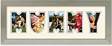 Mummy Photo Frame Word Frame Champagne Silver
