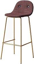 MUMUMI Desk Chair,Bar Stool with Backrest