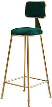 MUMUMI Desk Chair,Barstools Chair with Back Rest