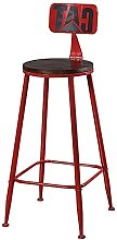 MUMUMI Desk Chair,Vintage Barstools Chair with