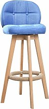 MUMUMI Desk Chair,Wooden Bar Stools Chair with