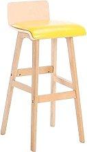 MUMUMI Desk Chair,Wooden Barstools Kitchen Chair