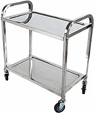 MUMUMI Tool Trolley Shelf 2 Tier Kitchen Shelf