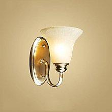 MUMUMI Wall Lamps,Copper Bedroom Wall Light Study