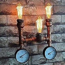 MUMUMI Wall Lamps,Light Water Pipe Wall Lamp,Home
