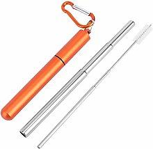 Mumusuki Portable Stainless Steel Retractable