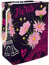 MUOOUM Vintage Paris Eiffel Tower Kisses Hearts