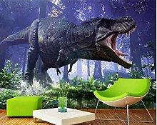 Mural 3D Wallpaper 3D Dinosaur Animal Landscape