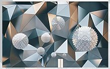Mural 3D Wallpaper 3D Floating Ball Geometric