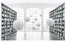 Mural 3D Wallpaper 3D Future City Reading Room