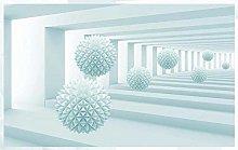 Mural 3D Wallpaper 3D Futuristic Technology Ball