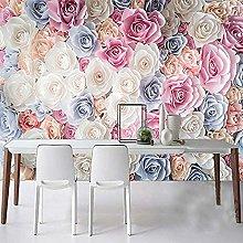 Mural 3D Wallpaper Modern Minimalist Hd Rose Sea