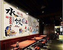 Mural 3D Wallpaper Traditional Retro Handmade