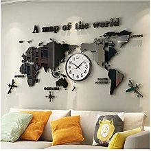Mural Geography World Map Living Room Aisle HD