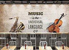 Mural Music Theme 3D Mural 3D Wallpaper murals