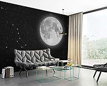 Mural Night Sky 3D Wallpaper Living Room Sofa Tv