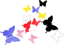 Mural Simulation 3D Butterfly Stereoscopic Hot