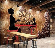 Mural Wallpaper Cafe Restaurant Mural Wallpaper