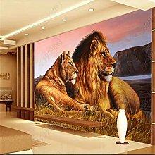 Mural Wallpaper for Living Room African Grassland