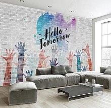 Mural Wallpaper Palm Inspirational Mural