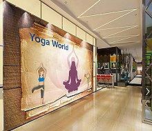 Mural Wallpaper Yoga Bedroom Wallpaper 3D Mural