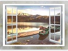 murando 3D Wall Illusion 210x150 cm Wallpaper