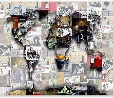 murando Photo Wallpaper 392x280 cm Peel and Stick