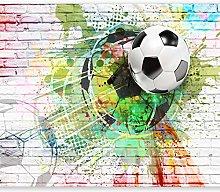 murando- Photo Wallpaper Football 300x210 cm