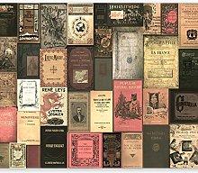 murando Photo Wallpaper Library 250x175 cm