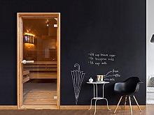 murando - Self-Adhesive Door Wallpaper XXL 90x210