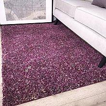 Murano Mottled Speckled Mixed Tonal Design Purple