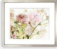 Muriel de Seze - Pink Bouquet Framed Print &