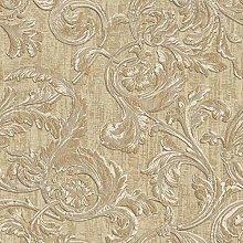 Muriva 20505 Style Kastra Scroll Brown Luxury