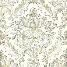 Muriva 20574 Style Rana Damask Ivory Luxury