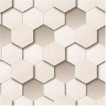 Muriva Honeycomb Cream Wallpaper