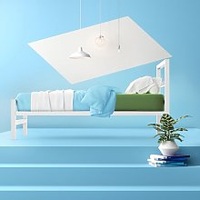 Musa Bed Frame Hashtag Home Size: Single (3'),