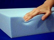 MUSA High Density Light Blue Upholstery Firm Foam