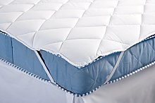 Musbury Diamond Quilted Mattress Topper/Comforter