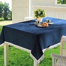 Muse Tablecloth August Grove Colour: Dark Blue,