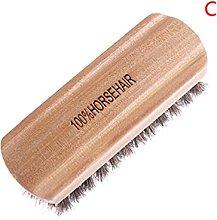 MUsen Horse Hair Shoe Brush Polish Leather